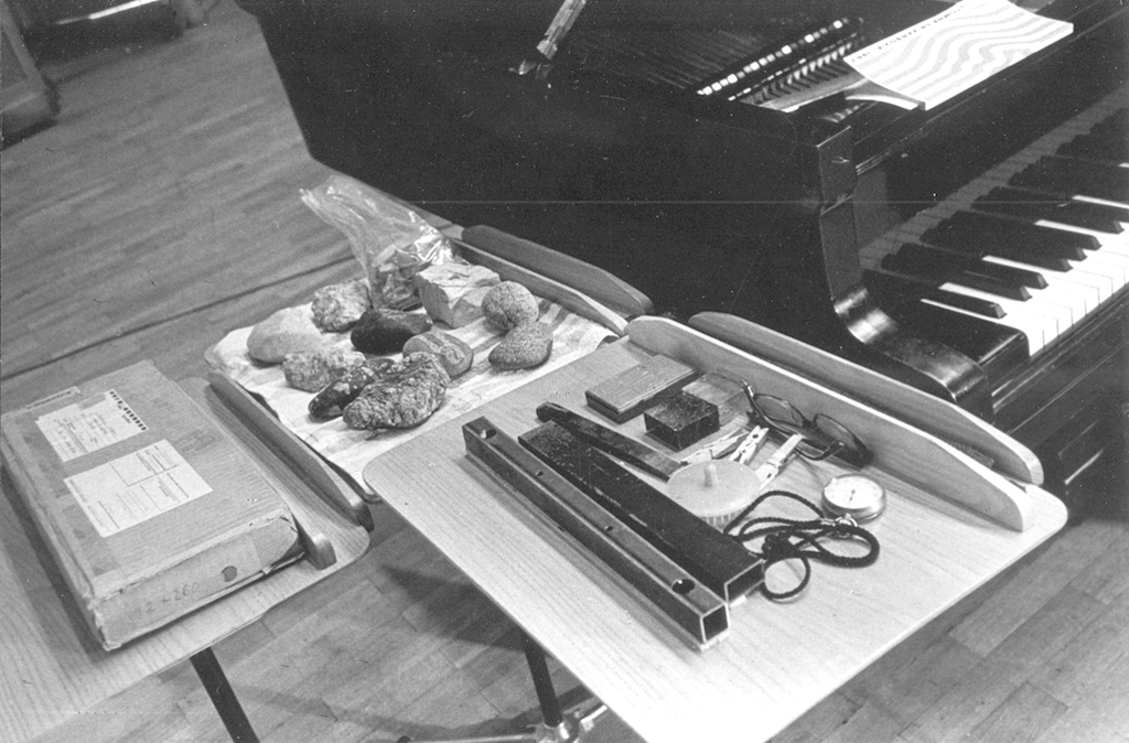 Tools for the preparation of the piano (1967), photo by Andrzej Zborski