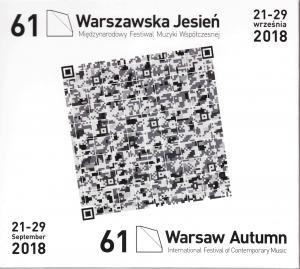 Sound chronicle of the 61st Warsaw Autumn (CD)