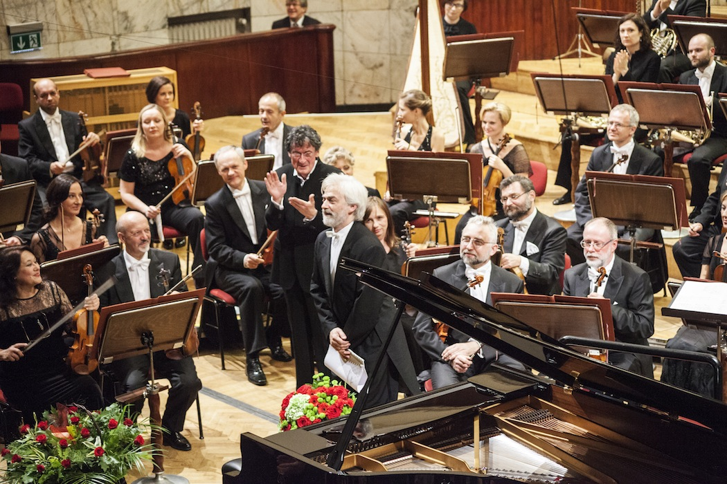 Warsaw Autumn 2013, concert with Krystian Zimerman's participation, photo by Grzegorz Mart