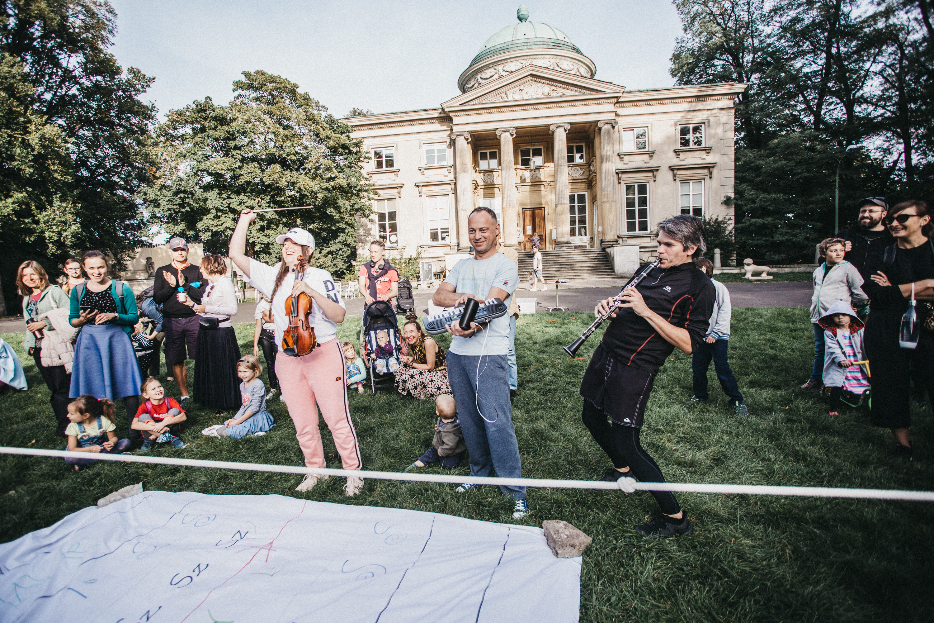 Little Warsaw Autumn 2020, Kwartludium - Musical Olympics, photo by Grzegorz Mart